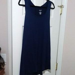 Active wear blue tank top